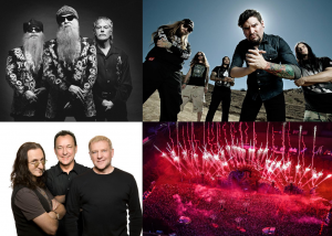 ZZtop, rush, suicide silence, andy savage